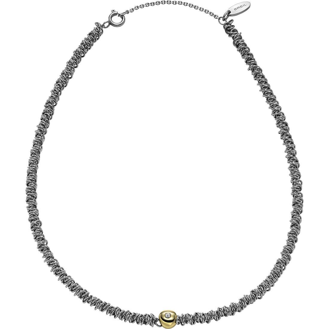 collana donna gioielli Breil Vertigo TJ1675