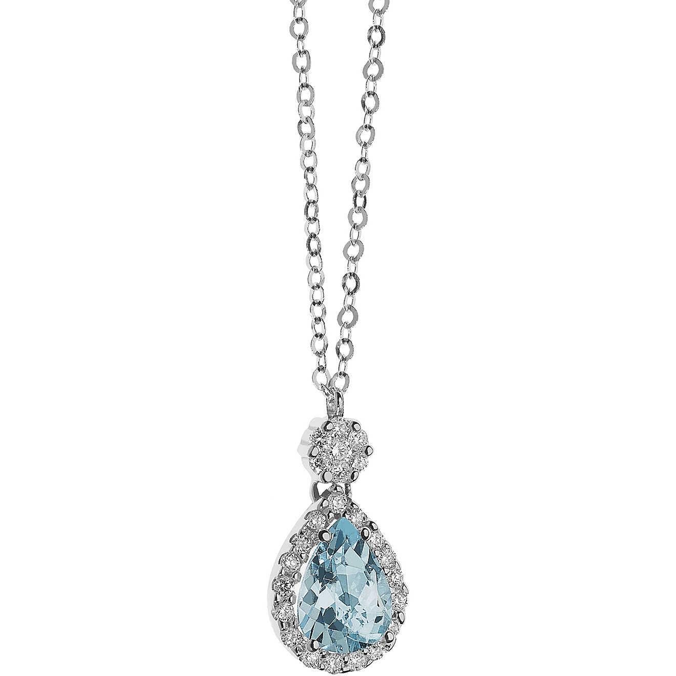nuovo di zecca 3982d 27c5e collana donna gioielli Comete Acquamarina GLQ 258