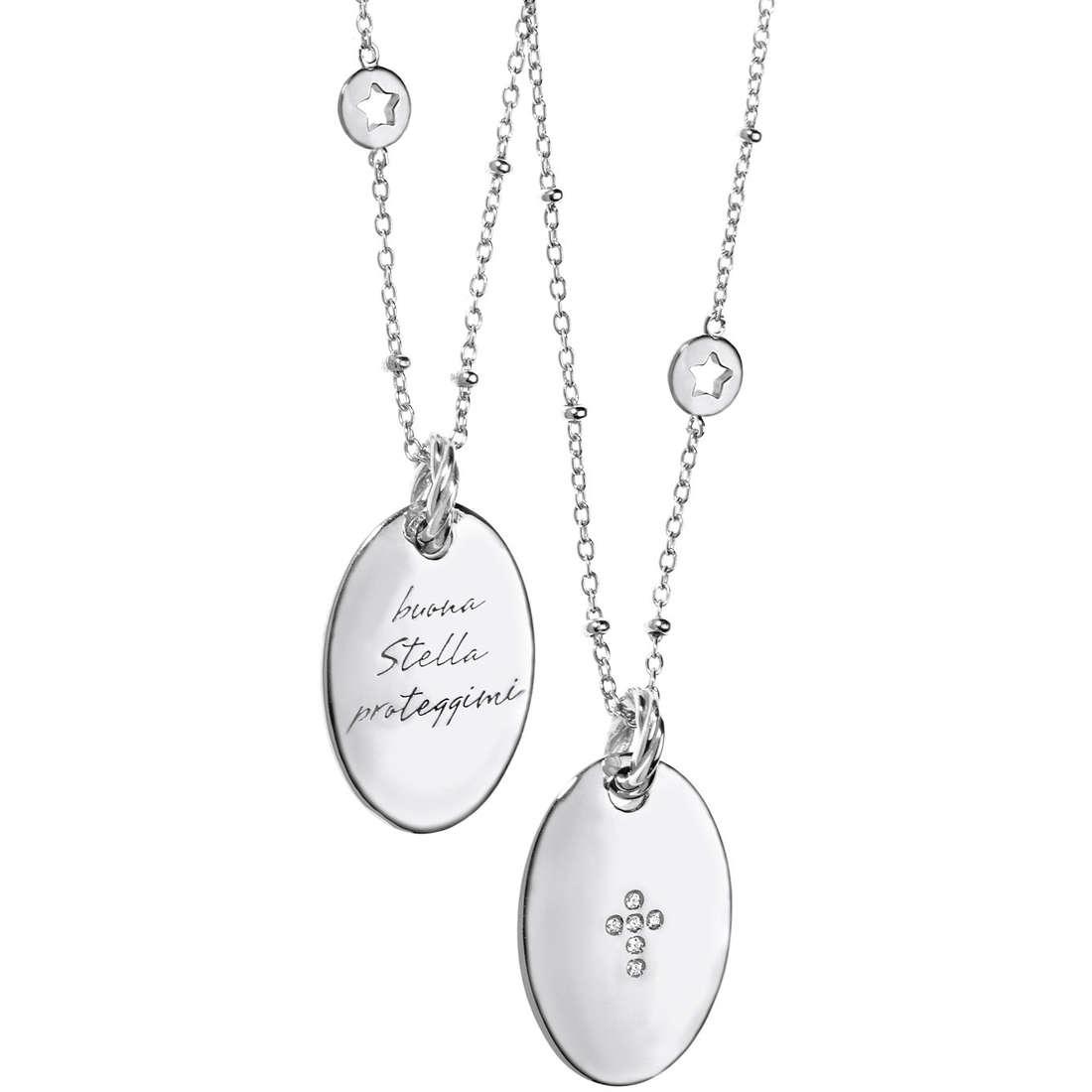 collana donna gioielli Comete Argento 925 GLA 115
