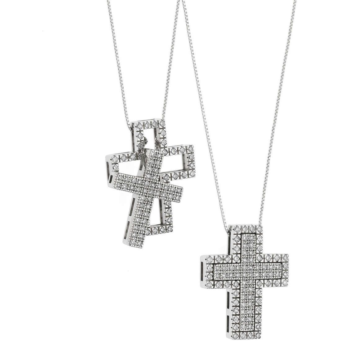 collana donna gioielli Comete Croisette GLB 1121