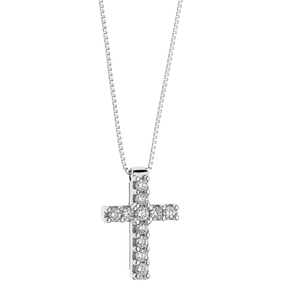 collana donna gioielli Comete Croisette GLB 1200