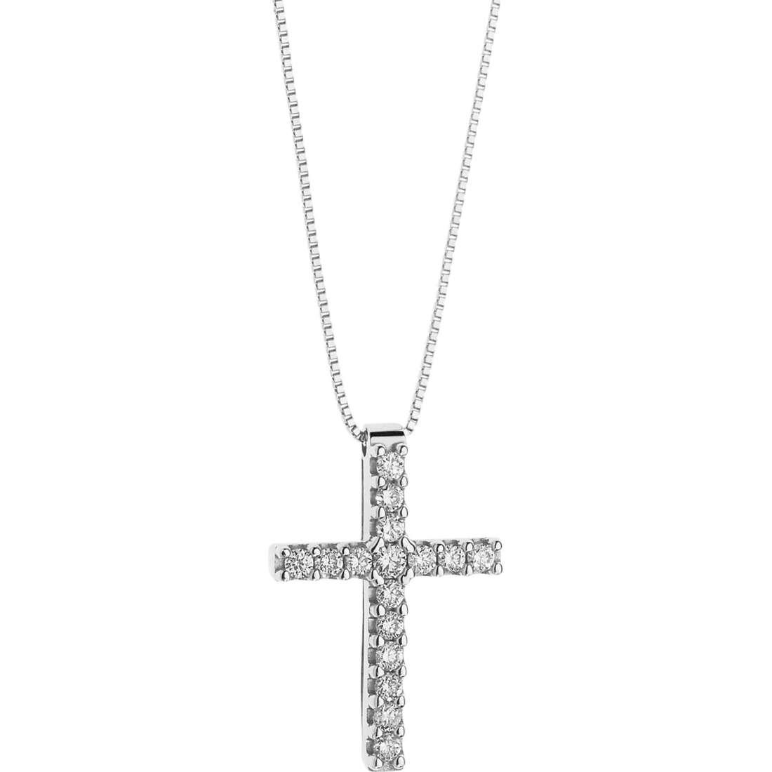 collana donna gioielli Comete Croisette GLB 1201