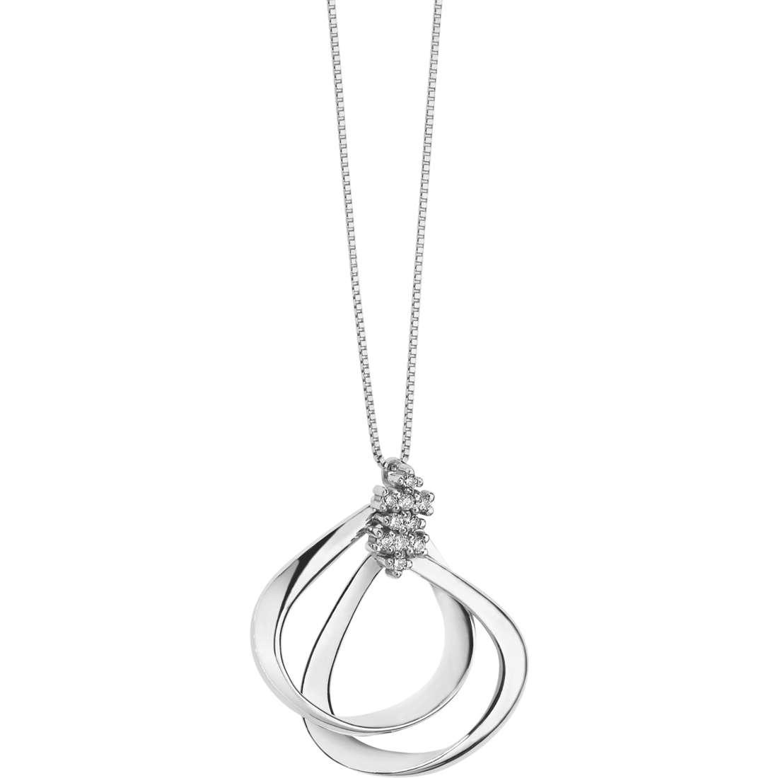 collana donna gioielli Comete Diamanti GLB 1253