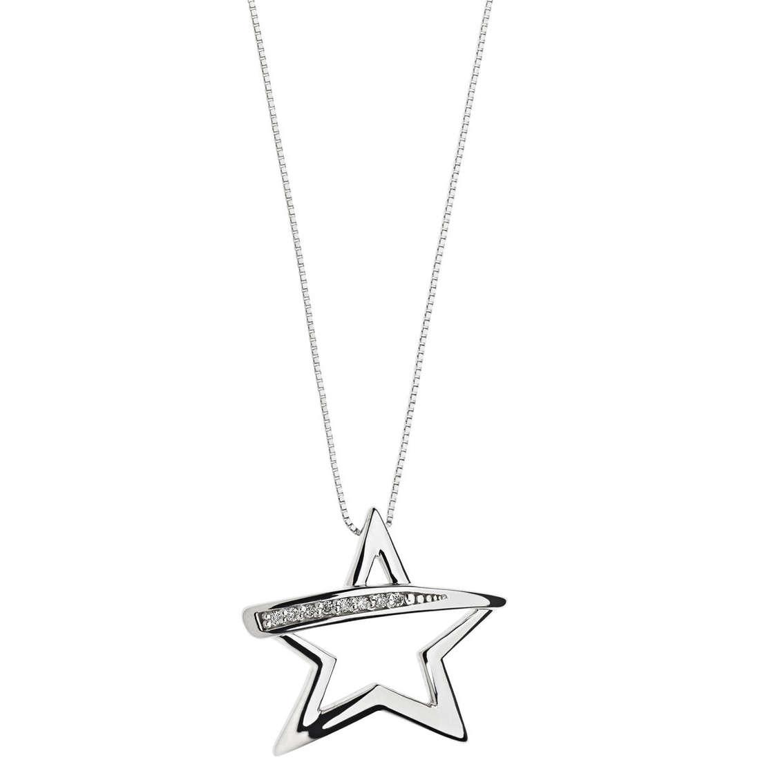 collana donna gioielli Comete Fantasie di diamanti GLB 1130