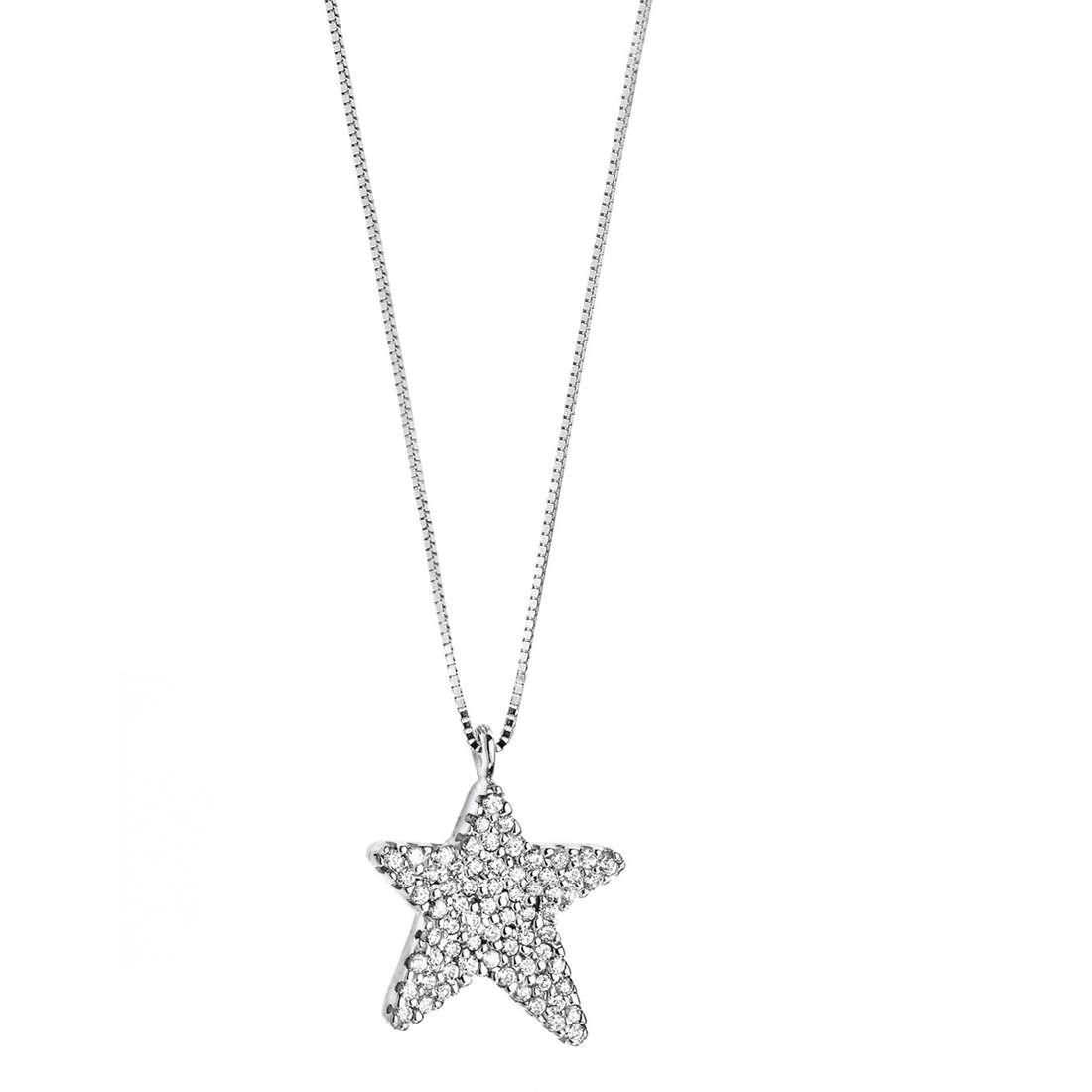 collana donna gioielli Comete Fantasie di diamanti GLB 1146
