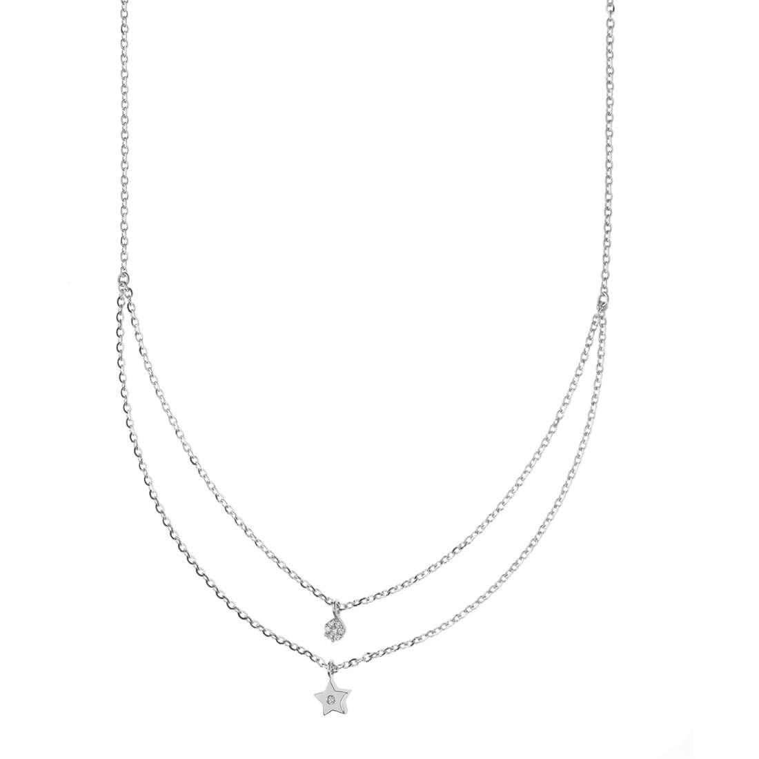 collana donna gioielli Comete Fantasie di diamanti GLB 1325