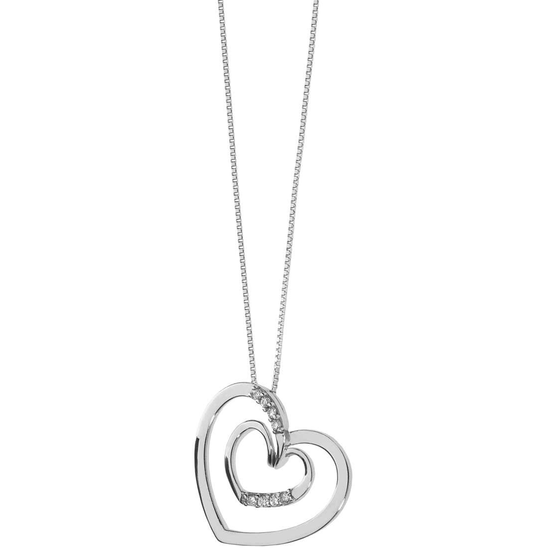 collana donna gioielli Comete Fantasie di diamanti GLB 1339