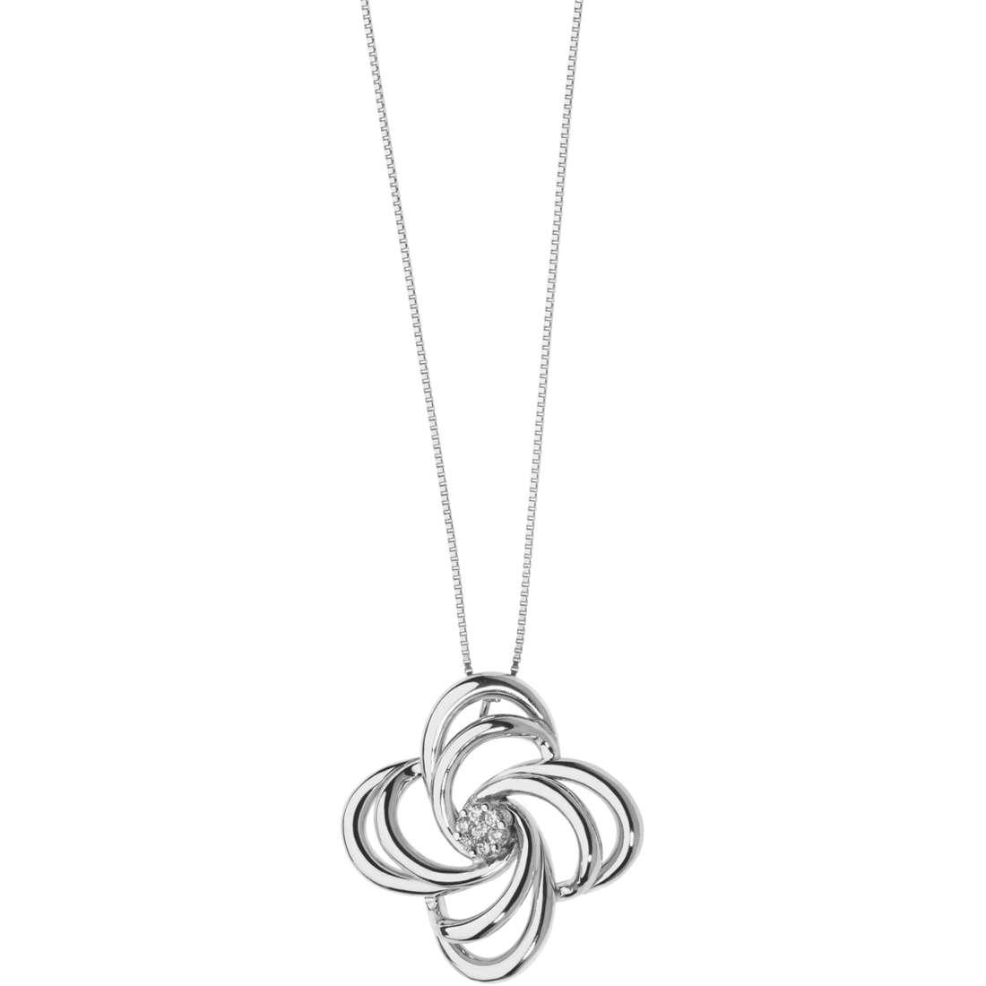 collana donna gioielli Comete Fantasie di diamanti GLB 1343