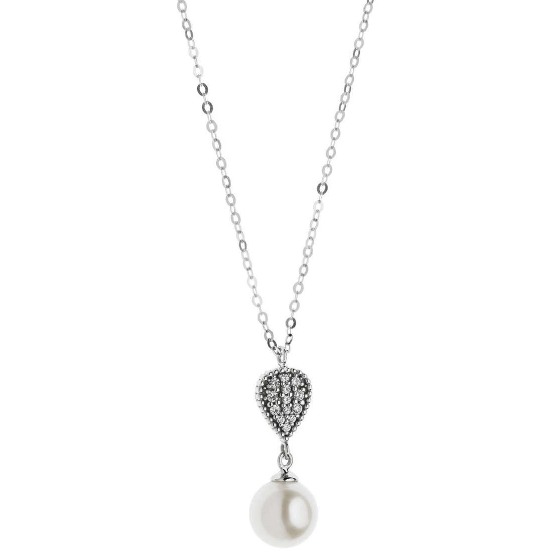collana donna gioielli Comete Fantasie di diamanti GLP 445