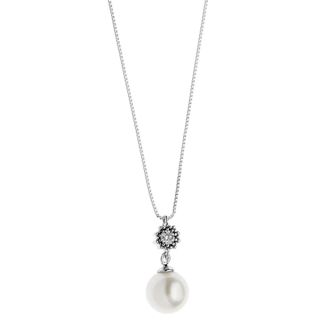 collana donna gioielli Comete Fantasie di diamanti GLP 447