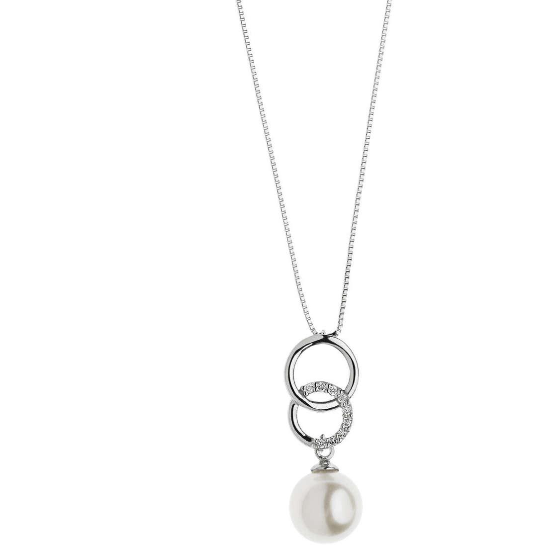 collana donna gioielli Comete Fantasie di diamanti GLP 448