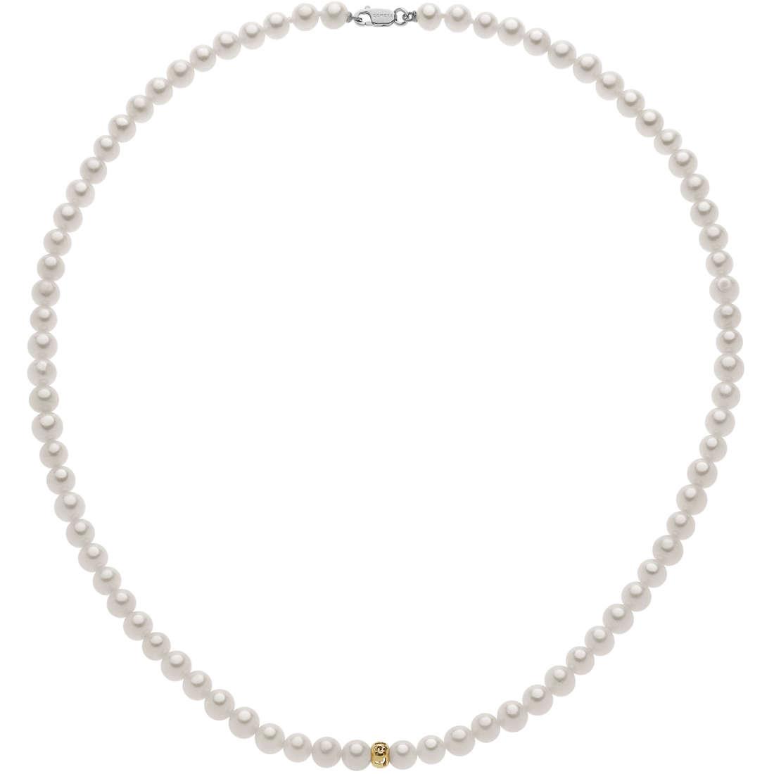 collana donna gioielli Comete Fantasie di perle FWQ 250 R