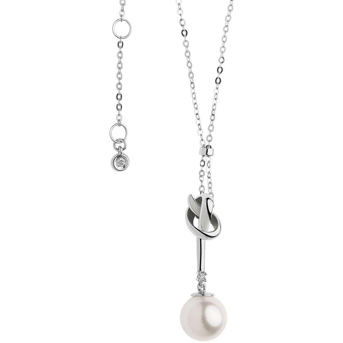 collana donna gioielli Comete Fantasie di perle GLP 466