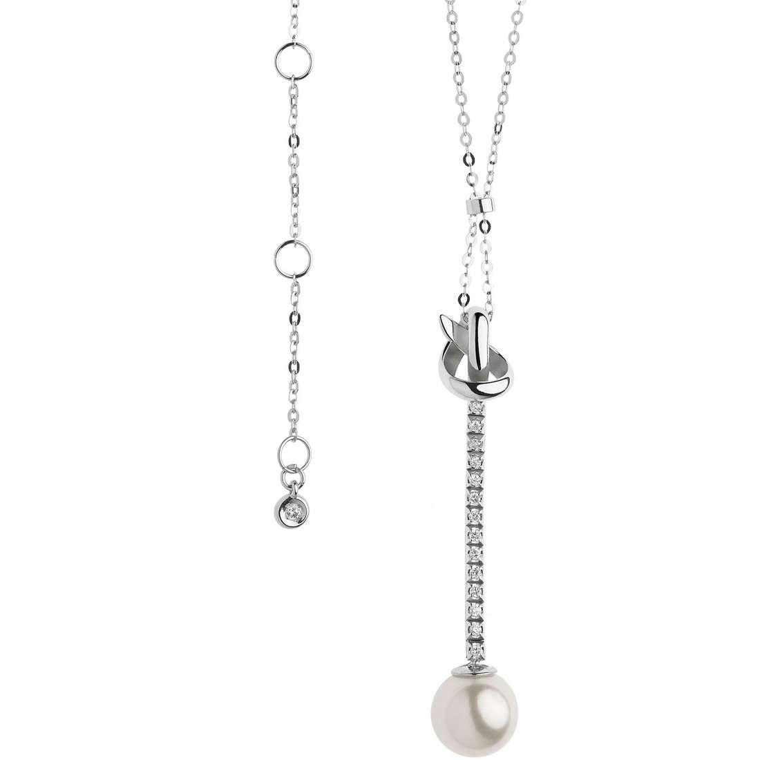 collana donna gioielli Comete Fantasie di perle GLP 467