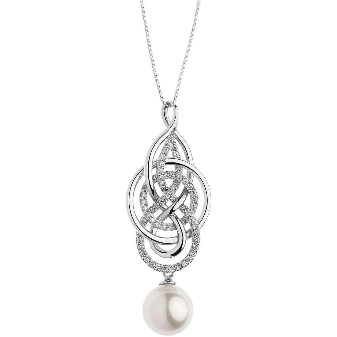 collana donna gioielli Comete Fantasie di perle GLP 468