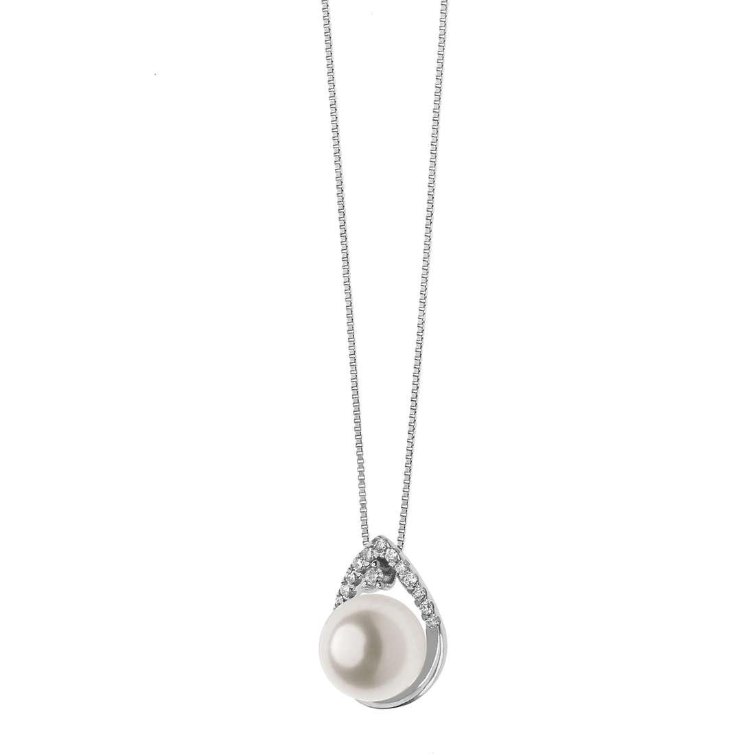 collana donna gioielli Comete Fantasie di perle GLP 516