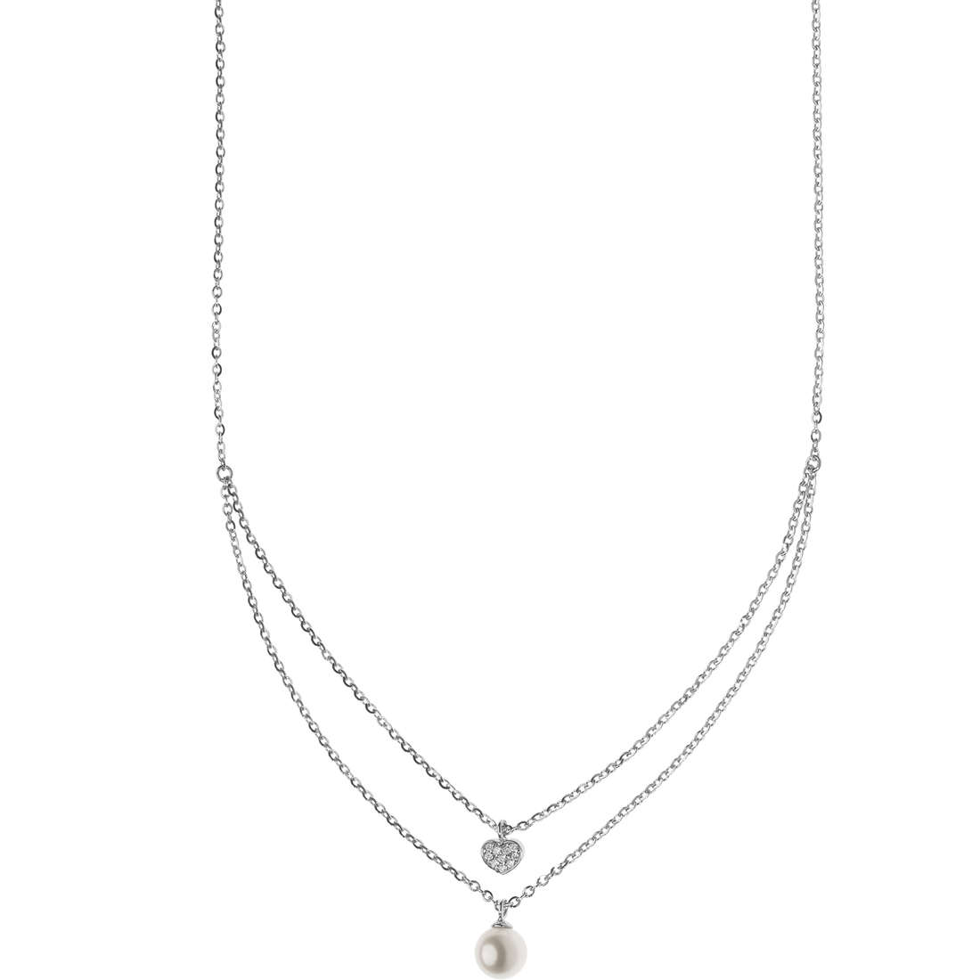 collana donna gioielli Comete Fantasie di perle GLP 518