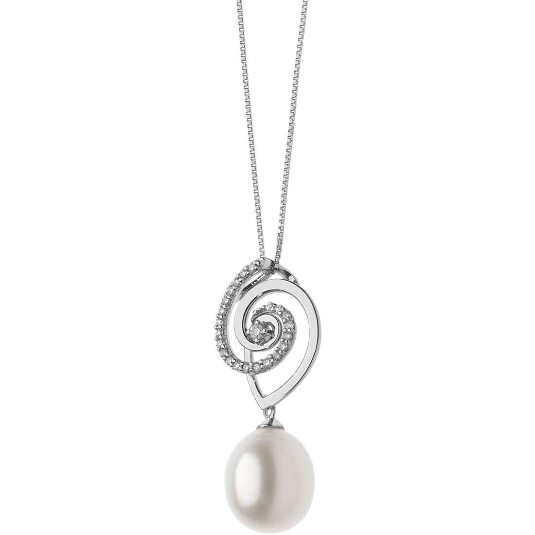 collana donna gioielli Comete Fantasie di perle GLP 524