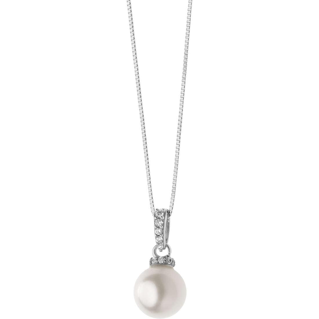 collana donna gioielli Comete Fantasie di perle GLP 525