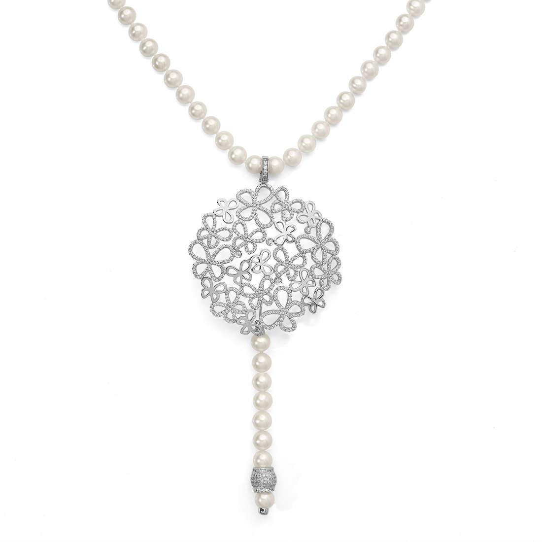collana donna gioielli Comete Farfalle GLA 129