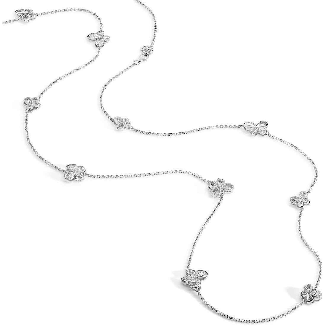 collana donna gioielli Comete Farfalle GLA 132