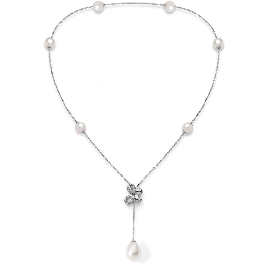 collana donna gioielli Comete Farfalle GLA 139