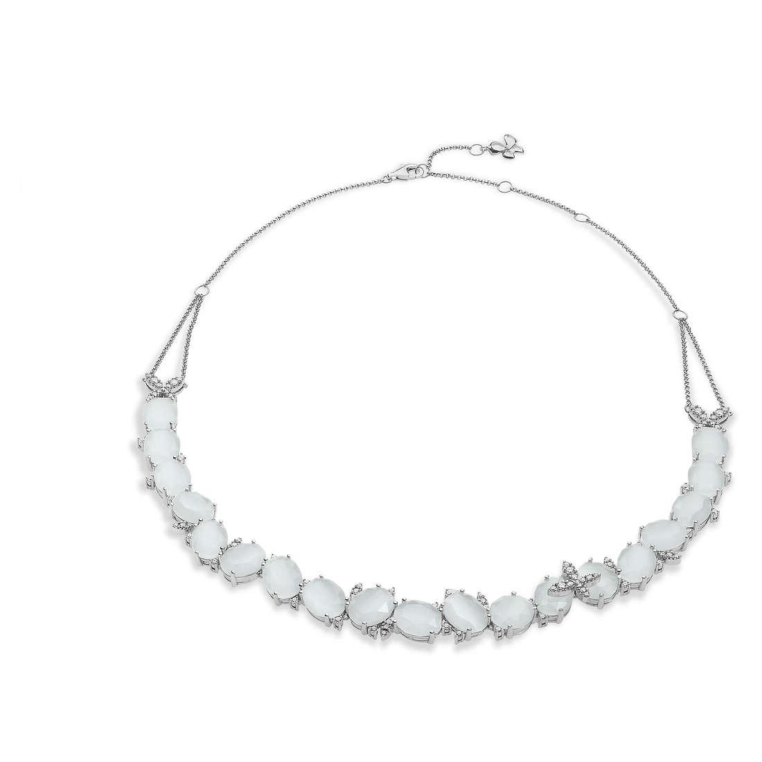 collana donna gioielli Comete Farfalle GLA 140