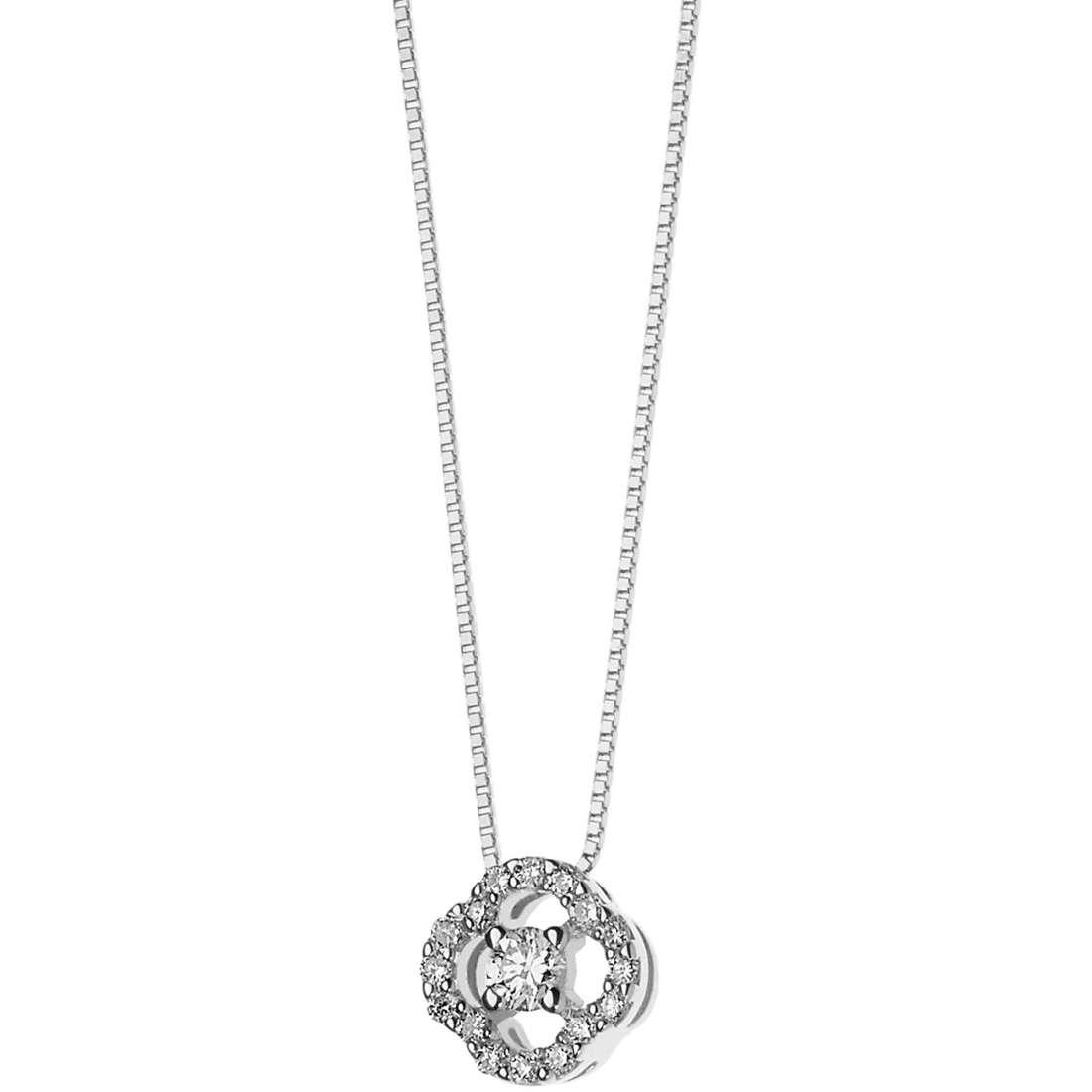 collana donna gioielli Comete Flora GLB 1232