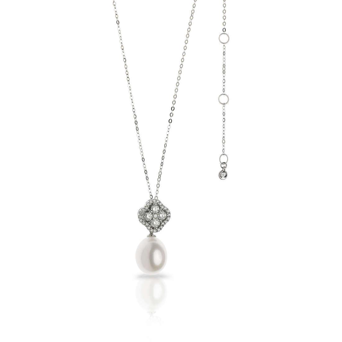 collana donna gioielli Comete Flora GLP 455