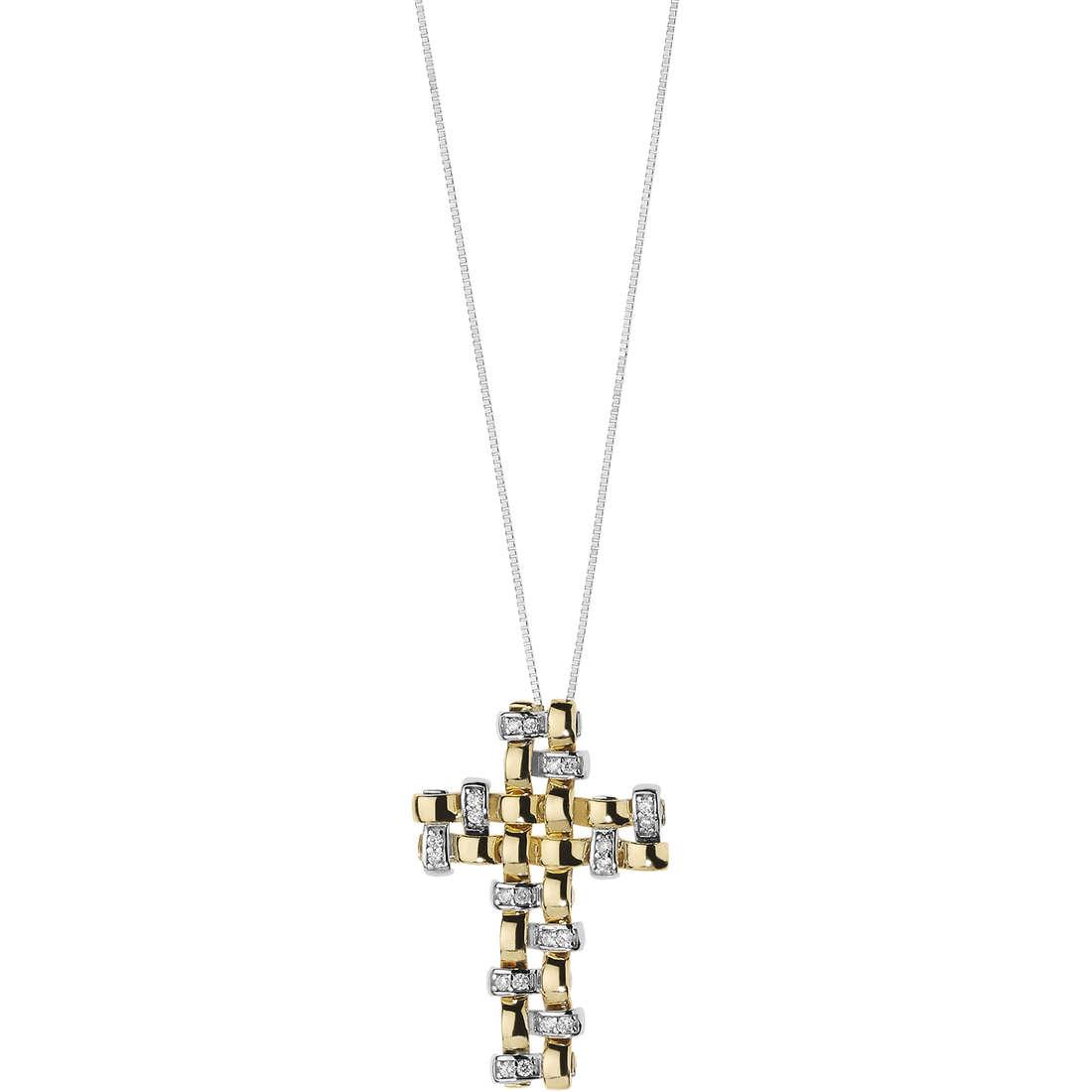 collana donna gioielli Comete Intrecci GLB 1220