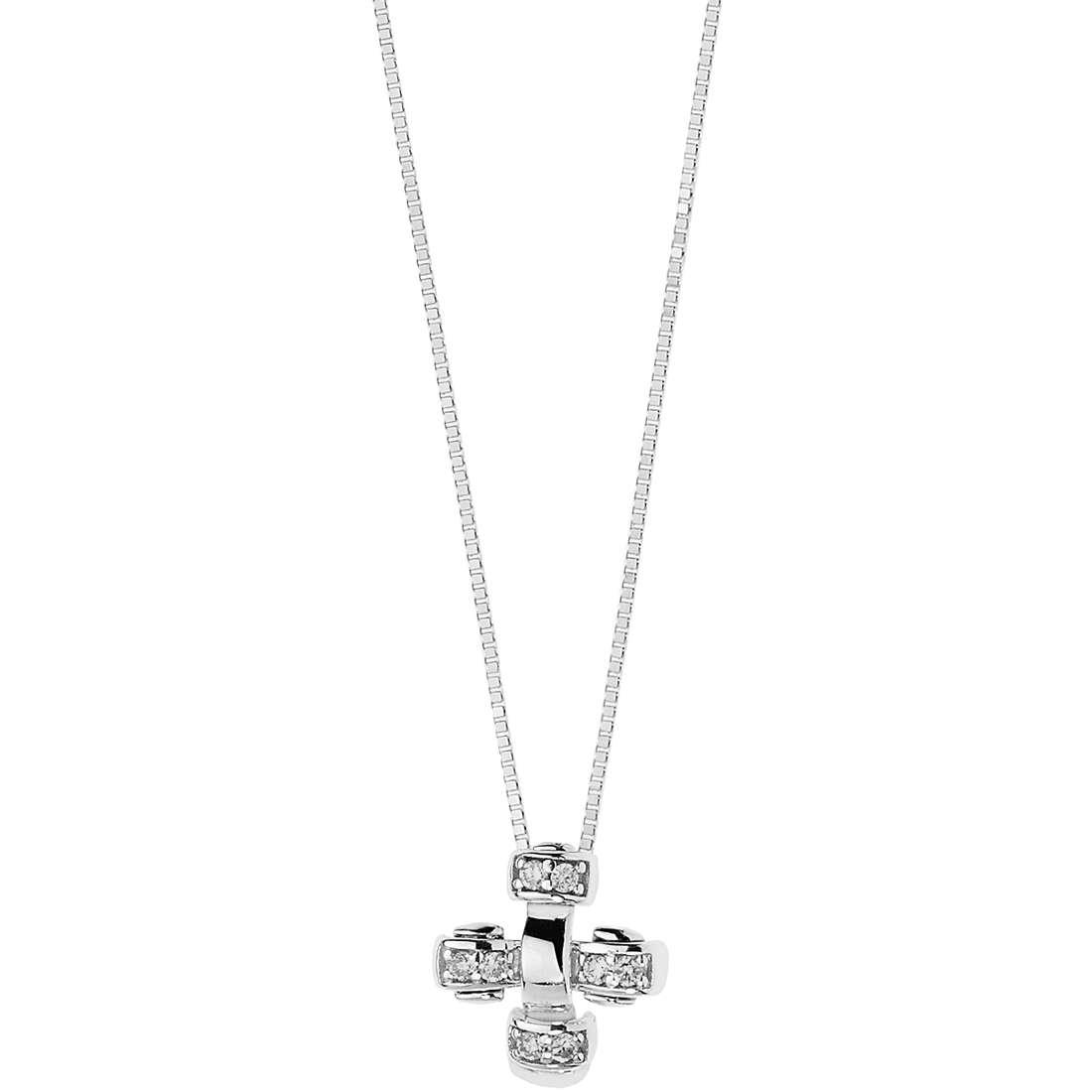 collana donna gioielli Comete Intrecci GLB 1221