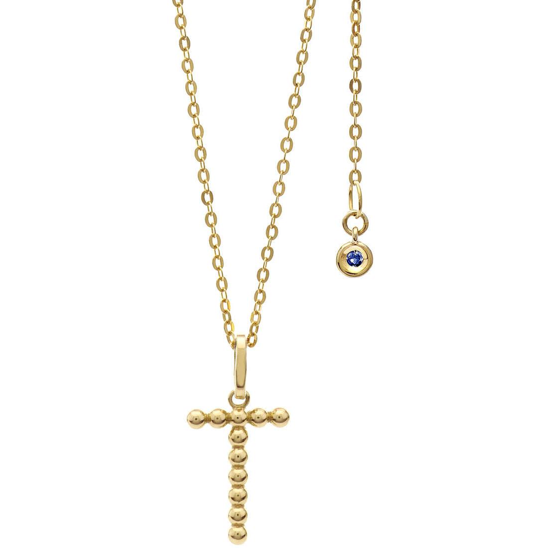 collana donna gioielli Comete Letterine GLB 1069