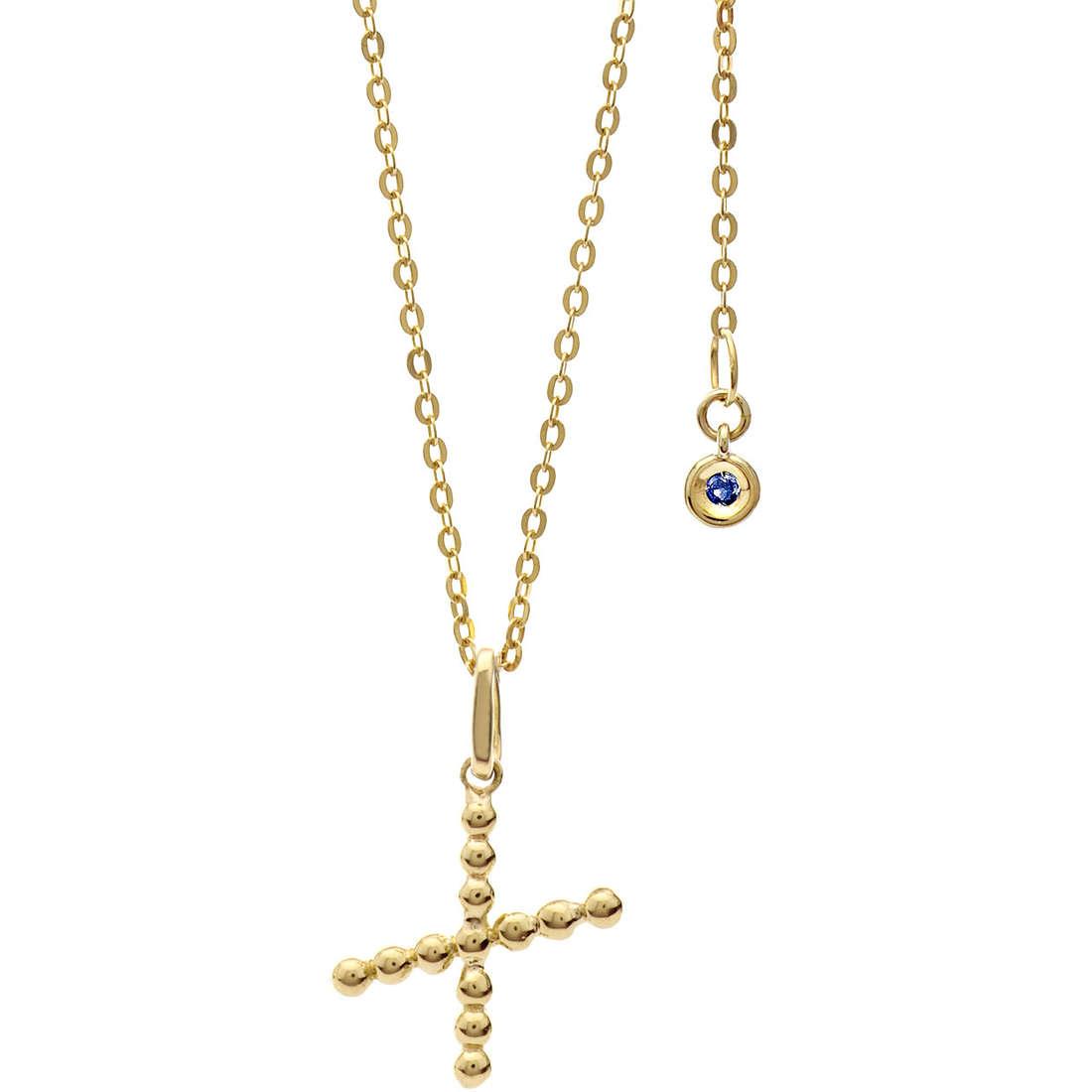 collana donna gioielli Comete Letterine GLB 1073