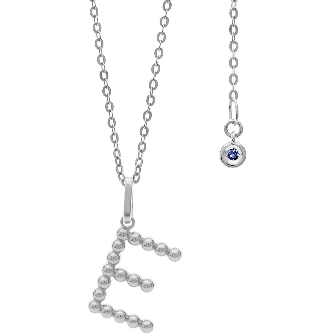 collana donna gioielli Comete Letterine GLB 1080