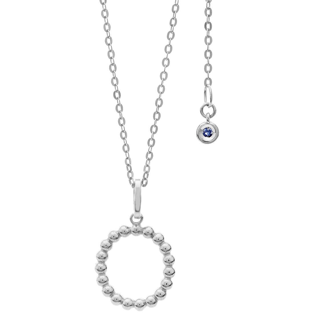 collana donna gioielli Comete Letterine GLB 1090