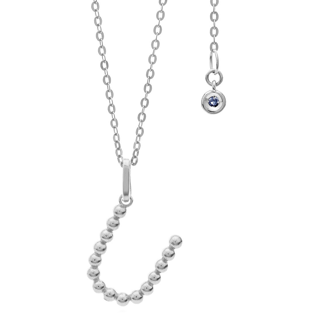 collana donna gioielli Comete Letterine GLB 1096