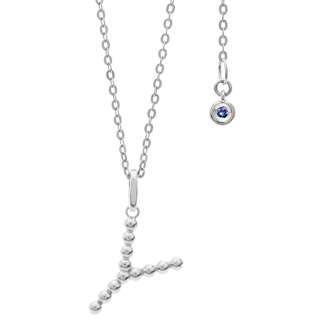 collana donna gioielli Comete Letterine GLB 1100