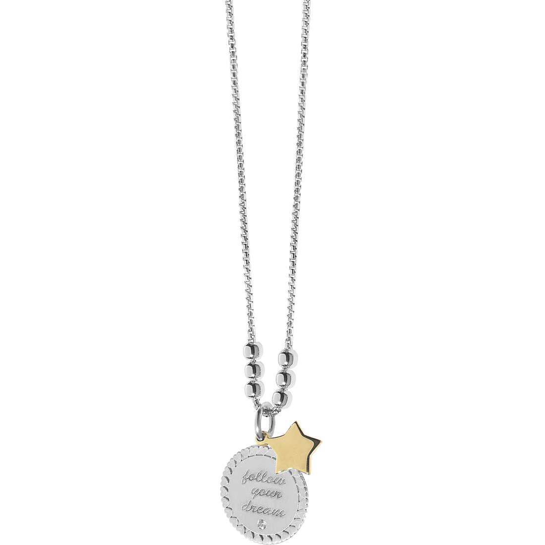 collana donna gioielli Comete Love Tag GLA 144