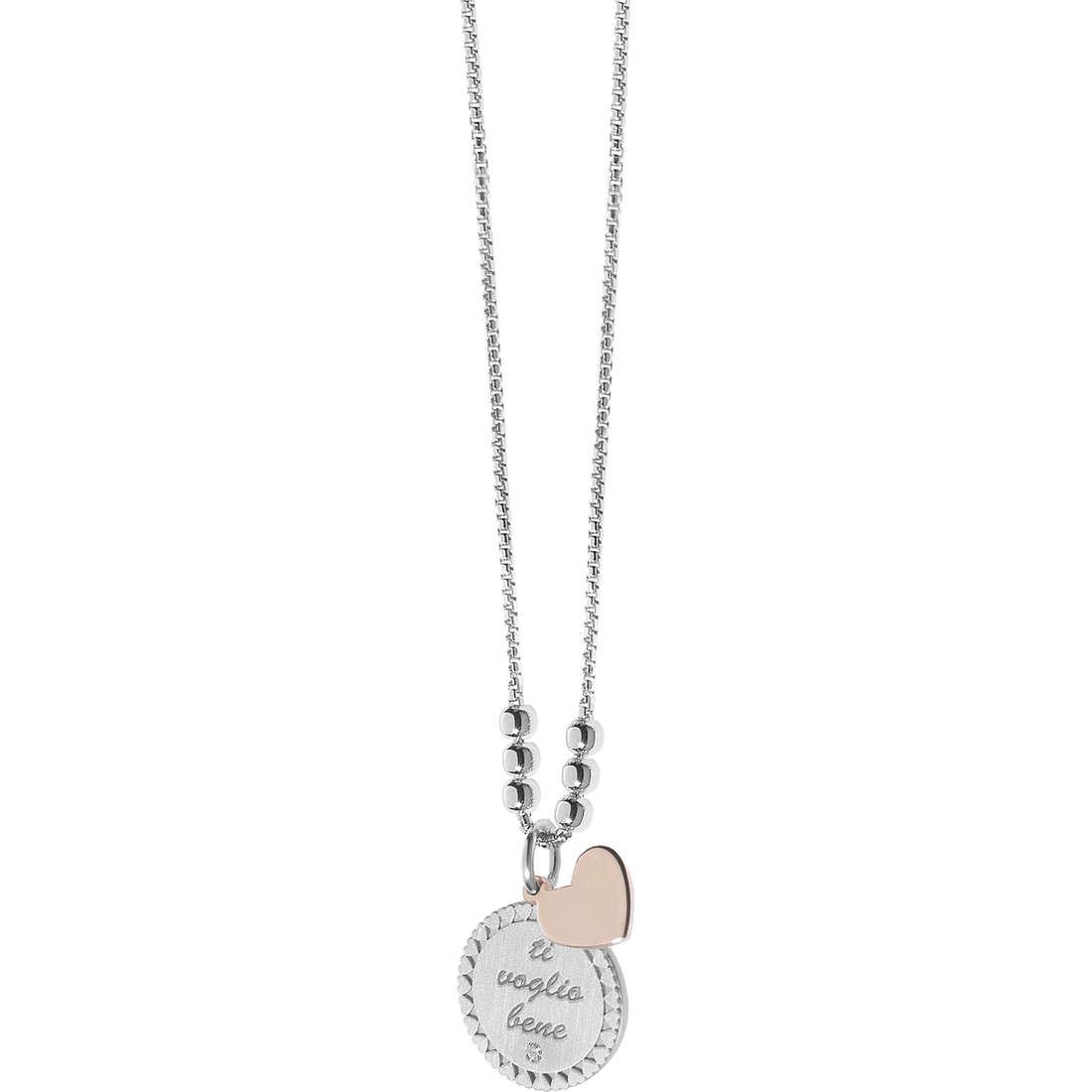collana donna gioielli Comete Love Tag GLA 148