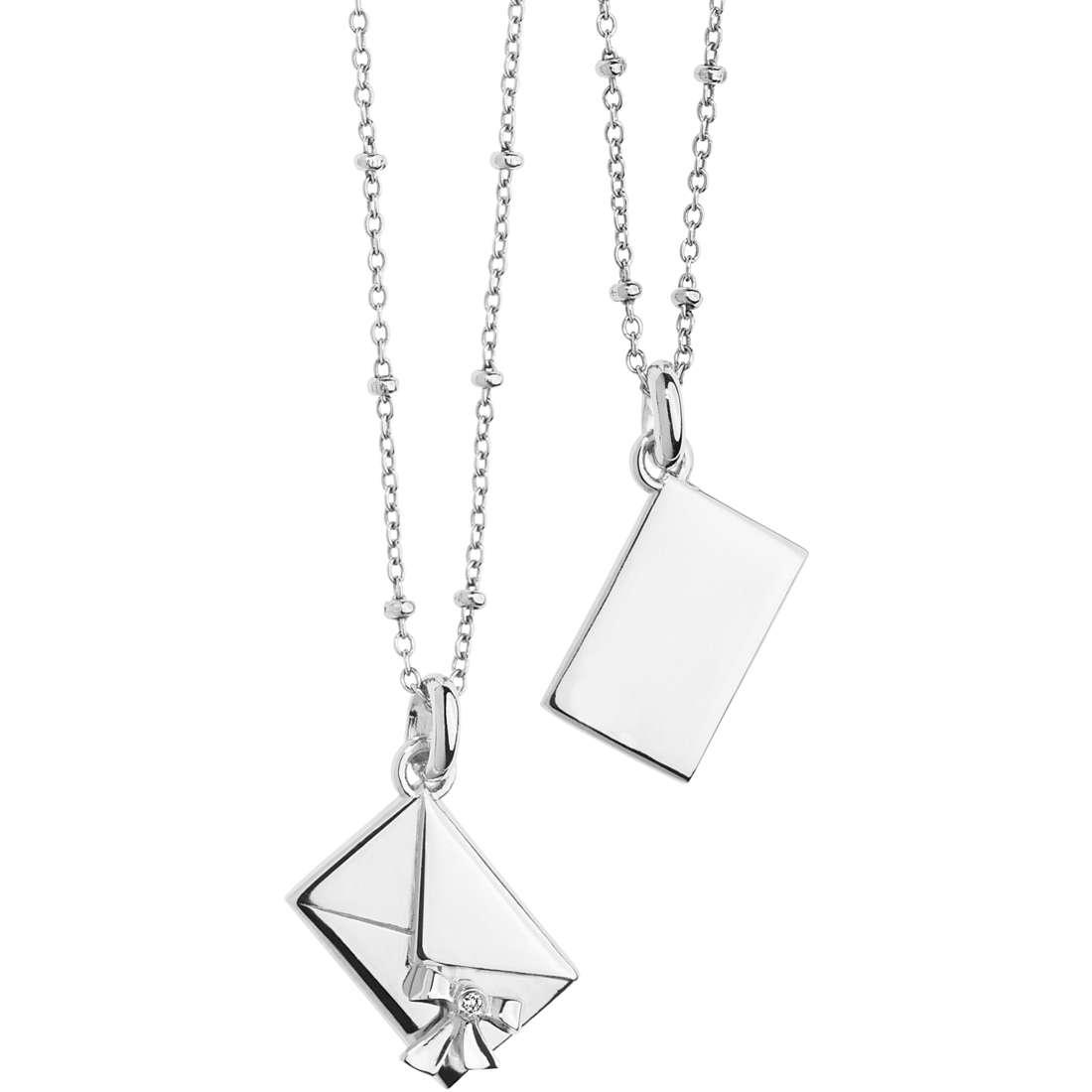 collana donna gioielli Comete Pensieri Preziosi GLA 136