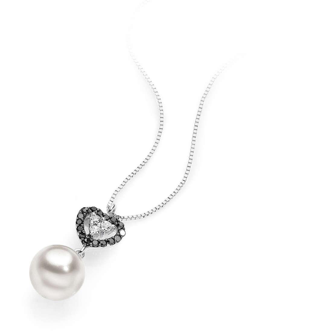 collana donna gioielli Comete Perla AGP 041