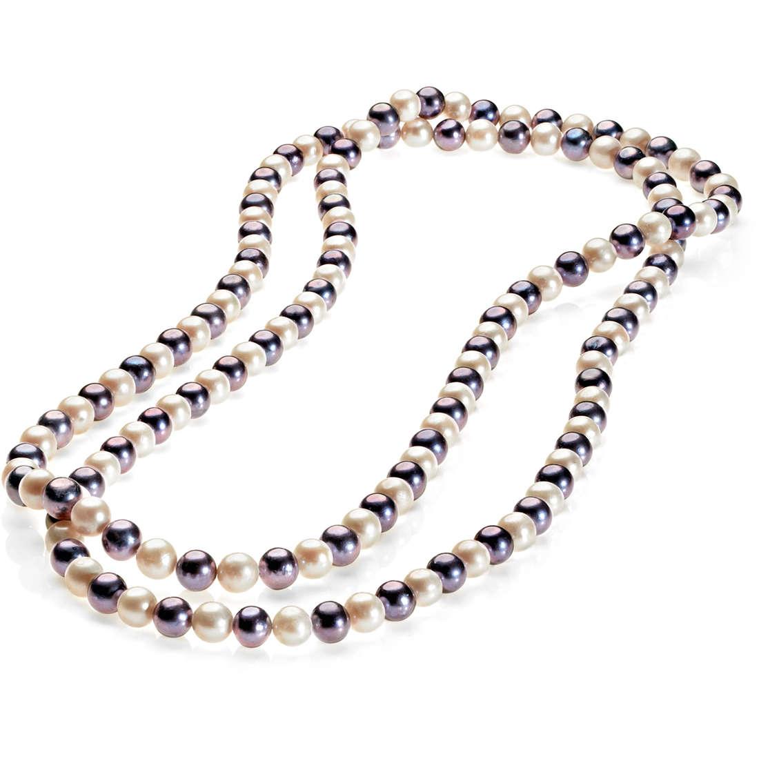 collana donna gioielli Comete Perla FBQ 109
