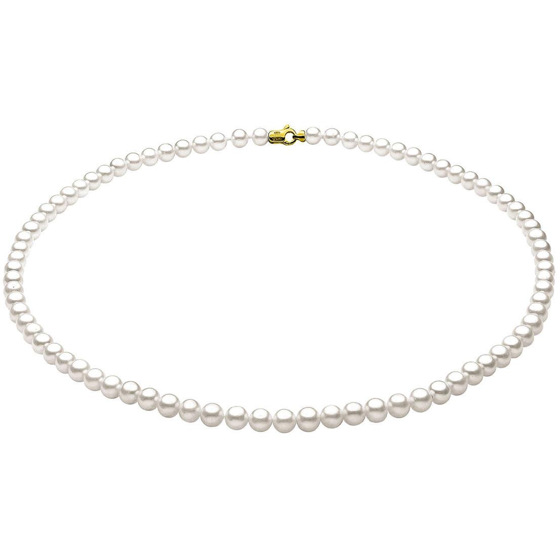 collana donna gioielli Comete Perla FFW 4/4,5 G