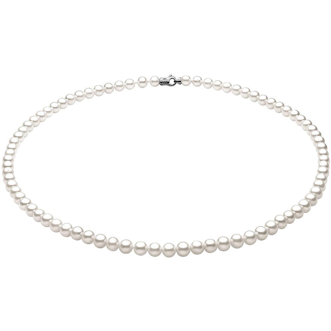 collana donna gioielli Comete Perla FFW 4/4,5