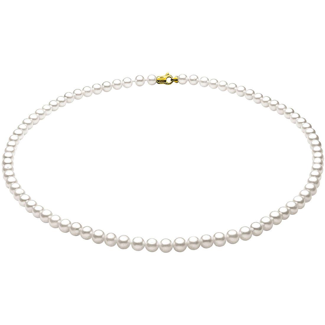 collana donna gioielli Comete Perla FFW 5/5,5 G