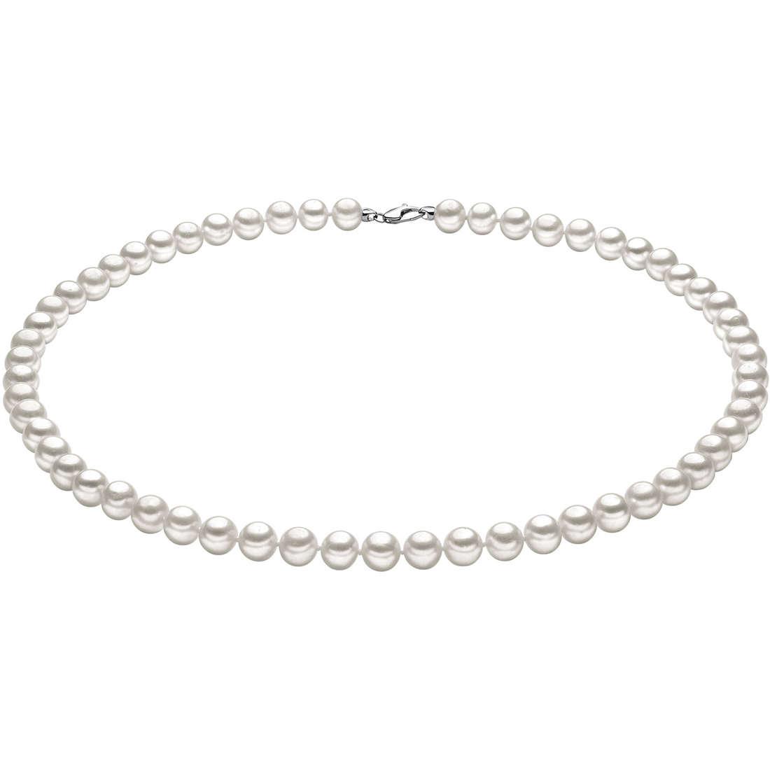 collana donna gioielli Comete Perla FWQ 108 G
