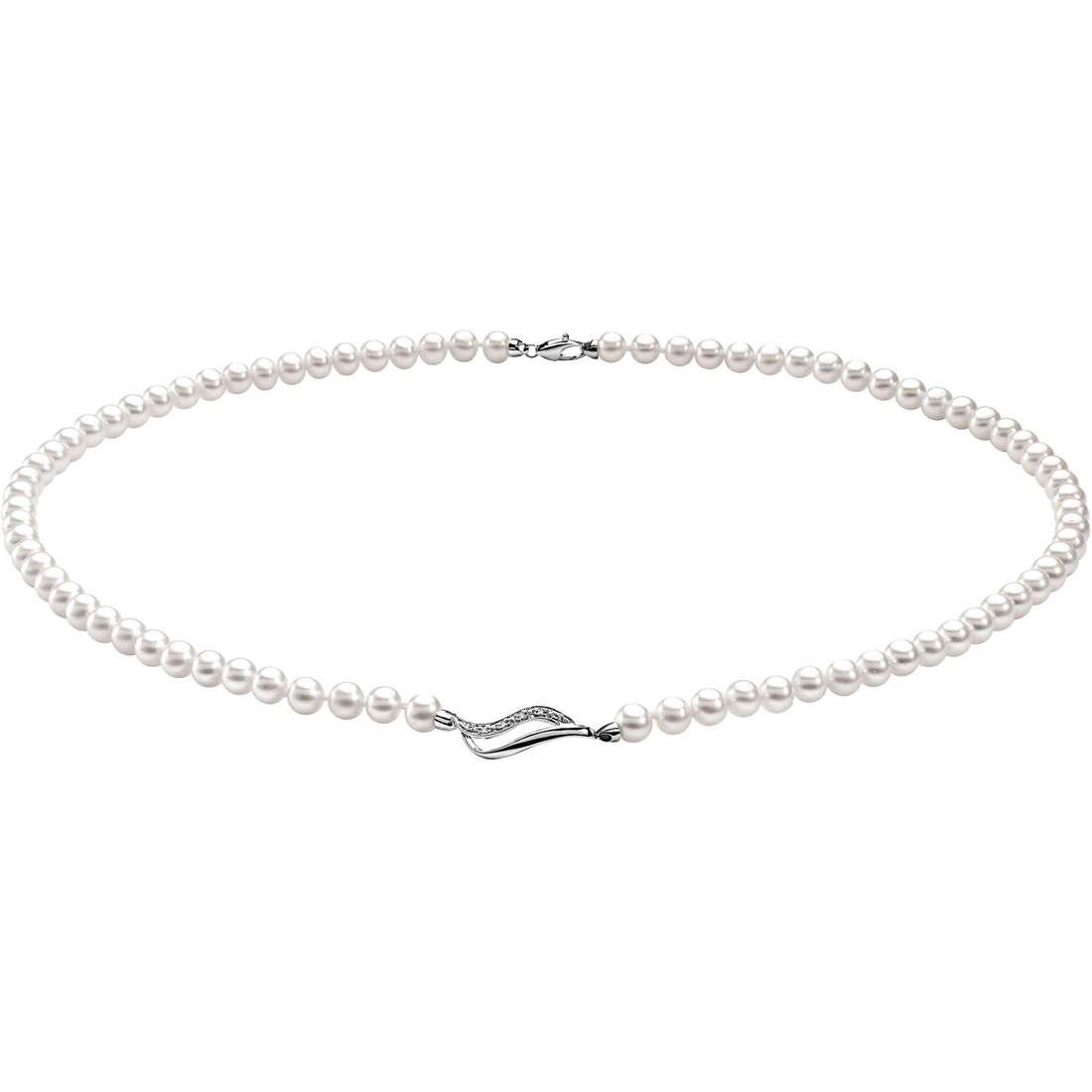 collana donna gioielli Comete Perla FWQ 116