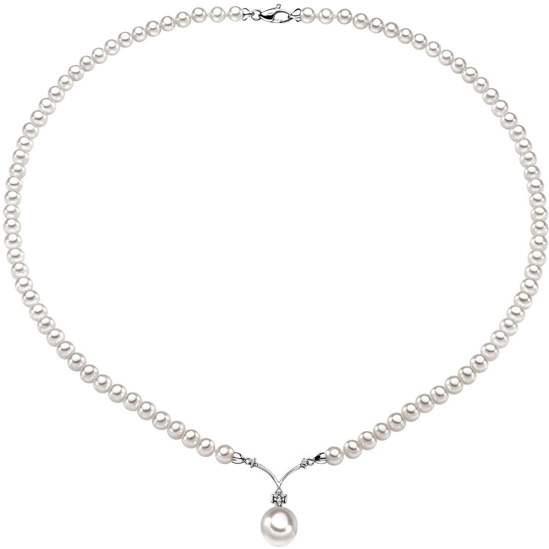 collana donna gioielli Comete Perla FWQ 118