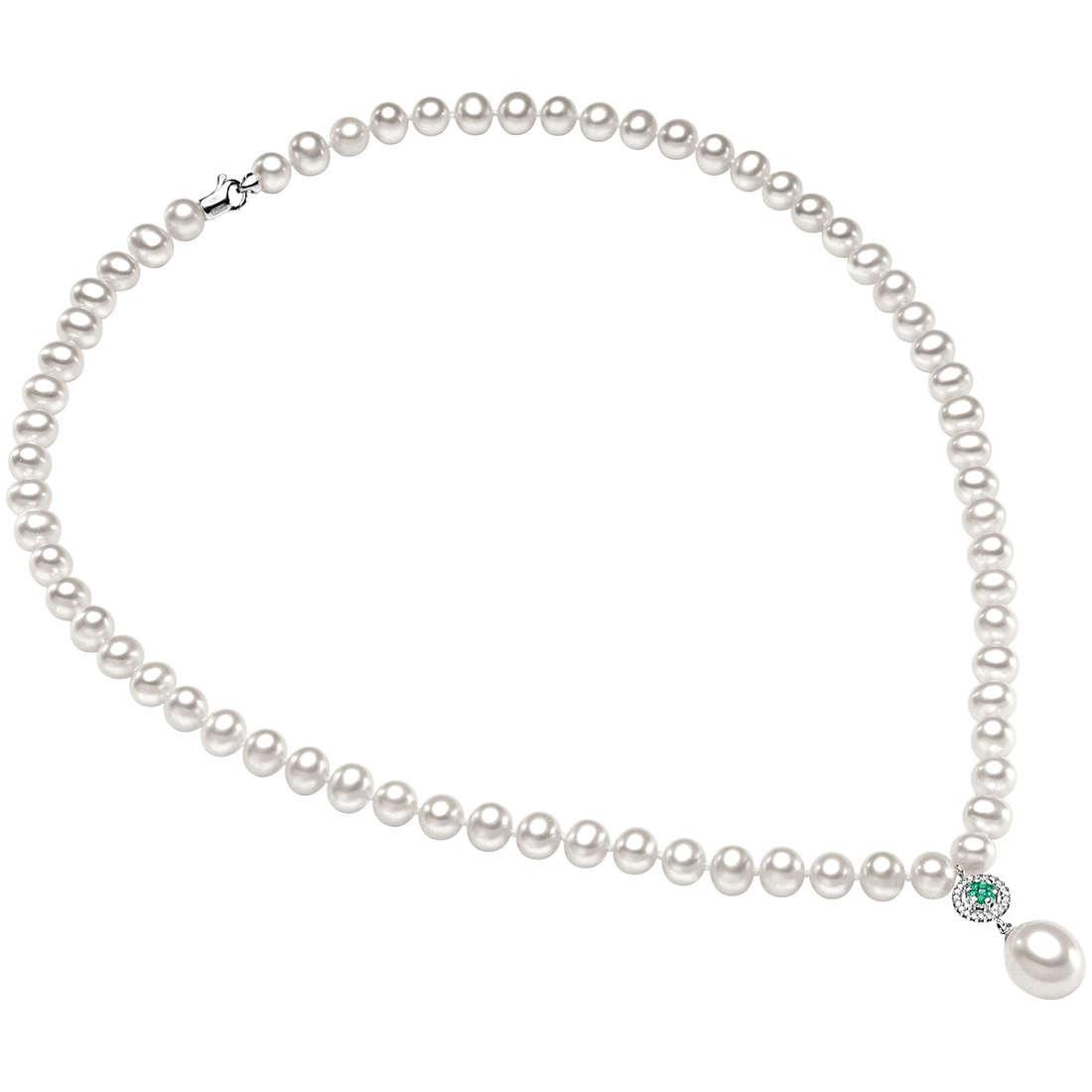 collana donna gioielli Comete Perla FWQ 126