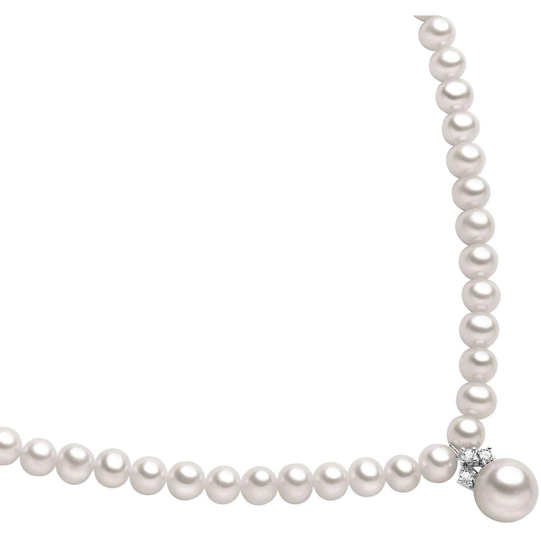 collana donna gioielli Comete Perla FWQ 127